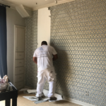 Wall Paper Removal and Installation - JC Painting and Drywall - Austin, TX