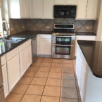 Re-Painted Kitchen Cabinets by JC Painting and Drywall, Austin, TX